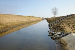 Water Canal Stock Photos