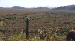 Arizona Desert Valley Stock Footage