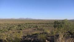 Stock Video Footage of Southwest Arizona Desert Pan