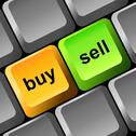 Stock Illustration of buy and sell button on the keyboard