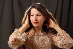 Stock Photo of beautiful woman