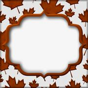 autumn time background - stock illustration