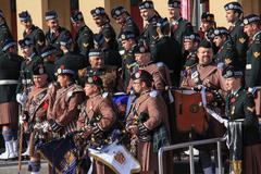 Toronto Scottish Regiment 3 Stock Photos