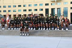Toronto Scottish Regiment 6 Stock Photos