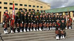 Toronto Scottish Regiment 8 Stock Photos