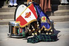 Toronto Scottish Regiment 10 Stock Photos