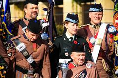 Toronto Scottish Regiment 12 Stock Photos