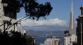 San Francisco Skyline Treasure Island Oakland Bay Bridge Panoramic View American Footage