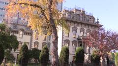 Leland Stanfords Mansion Stock Footage