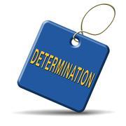 Stock Illustration of determination