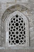 islamic window - stock photo