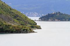 Boka kotorska strait Stock Photos