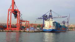 Port of Haydarpasa Stock Footage