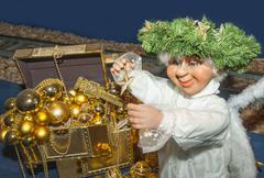 Stock Photo of nativity angel