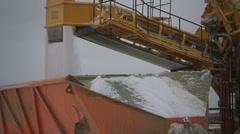 Salt convoyeur. - stock footage