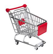 Shopping cart - stock illustration