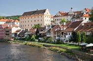 Stock Photo of cesky krumlov, czech republic