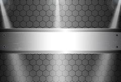 realistic dark carbon fiber - stock illustration
