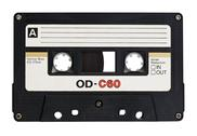 Stock Photo of Retro cassette