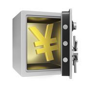 Stock Illustration of Yen Safe