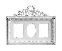 White frame Stock Illustration
