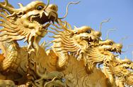 Stock Photo of Chinese dragon