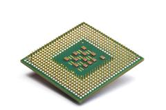 CPU chip Stock Illustration