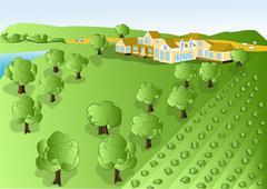 Illustration agriculture Stock Illustration
