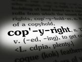 Stock Photo of Dictionary - Copyright - Black On White