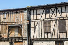 Stock Photo of lautrec (france), old village