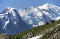 alps - stock photo