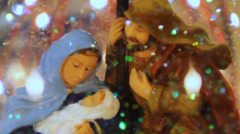 HD Stock - Christmas Holiday Nativity Close up Stock Footage