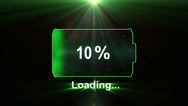 Battery Green Stock Footage
