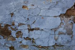 Old ragged wall as grunge background. Stock Photos