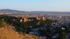 Granada, Spain Stock Footage