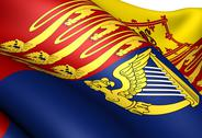 Stock Illustration of royal standard of the united kingdom