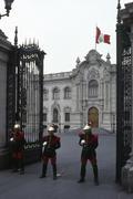Presidential palace, lima Stock Photos