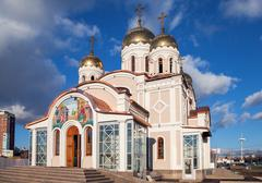 Stock Photo of samara, russia - november 9, 2013: the temple in honor of the annunciation of