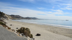 Avila Beach Stock Footage