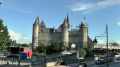 The National Maritime Museum in Antwerp, Belgium. Stock Footage