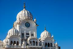 Sikh gurdwara golden temple (harmandir sahib). amritsar, punjab, india Stock Photos