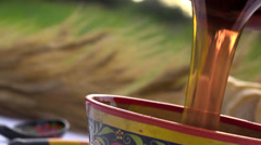 Stock footage honey Stock Footage