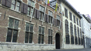 Stock Video Footage of The Rubenshuis (Rubens House) Museum, Antwerp, Belgium.