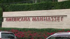 Americana Manhasset Stock Footage