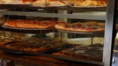 Small pizzeria (1 of 2) Stock Footage