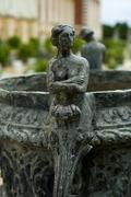 Hampton court palace - statue on bird bath Stock Photos
