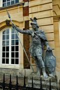 Hampton court palace - statue Stock Photos