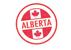 Alberta Stock Illustration