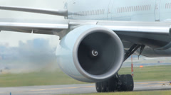 Jet Engine. - stock footage