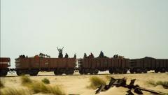 Mauritania Railway Stock Footage